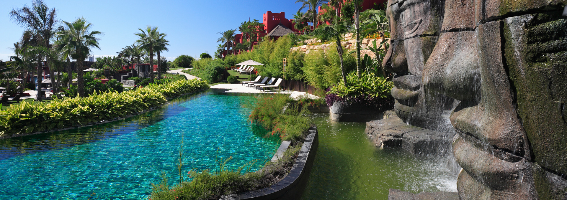 Luxury Resorts In Spain Asian Pools Asia Gardens Hotel